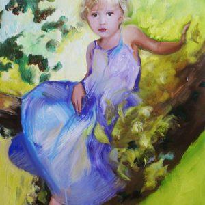 portrety olejne