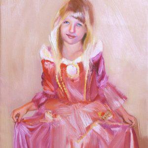 Portret olej